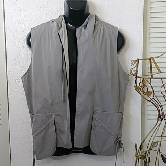StapleS Other - VINTAGE MEN'S  GREY hoodie vest  staples